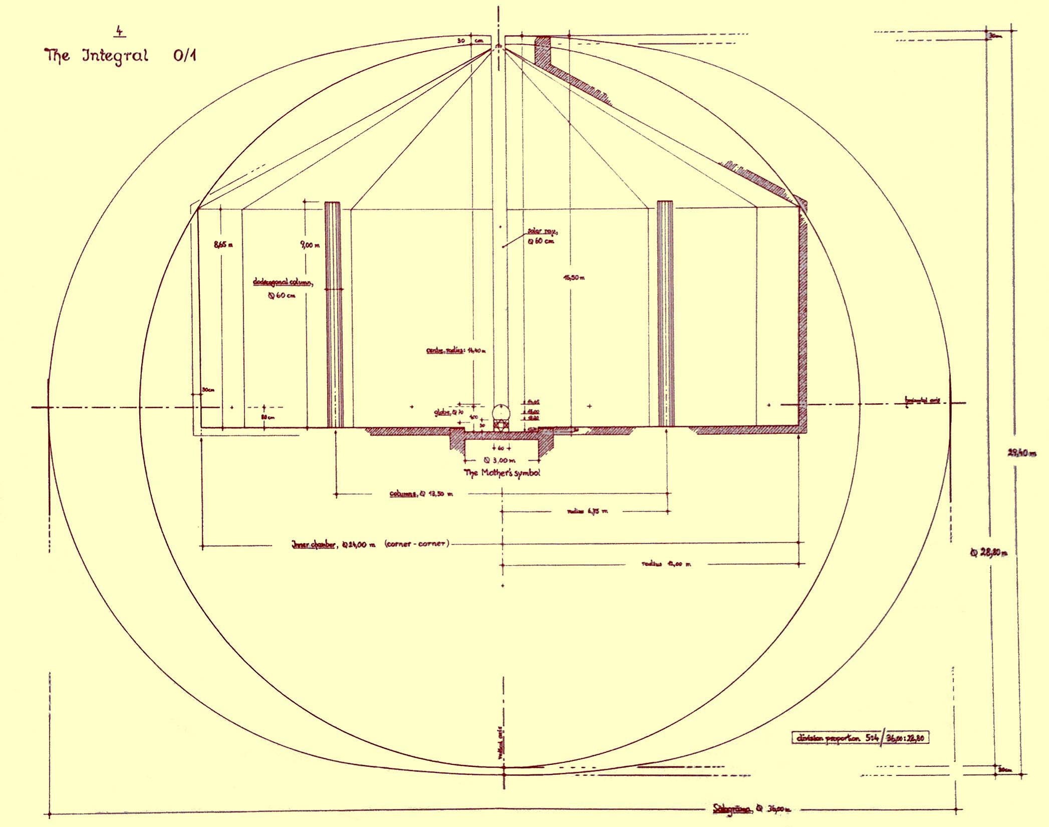 The Flawed Auroville Matrimandir Integral
